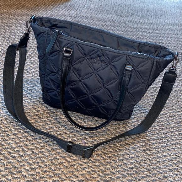 Kate Spade quilted medium satchel